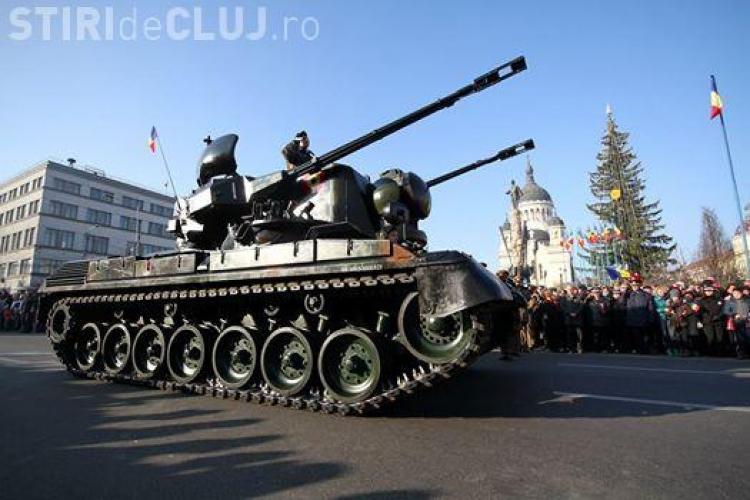 Paradă militară și concerte la Cluj de Ziua Națională! Vezi care este programul