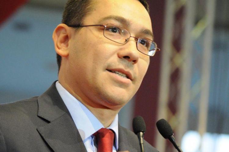 Ponta propune, luni, noua structură a Guvernului