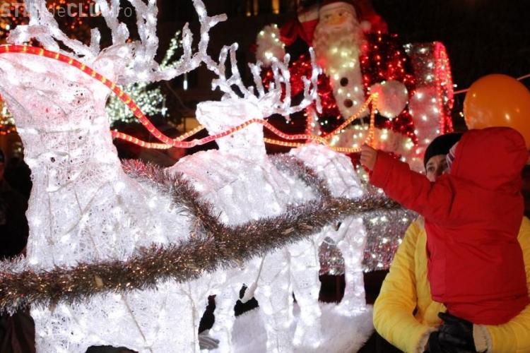 Moş Nicolae vine în Piaţa Unirii, la Târgul de Crăciun. Vor fi concerte, surprize și CADOURI