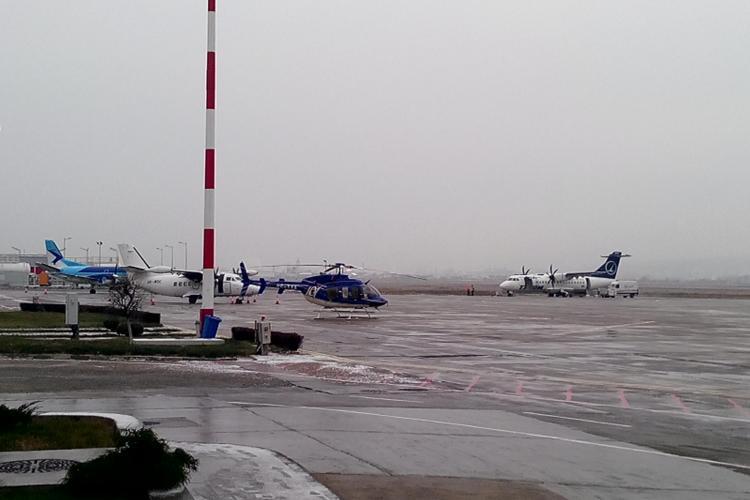"""Ceața nu mai face mari probleme pe Aeroportul din Cluj. Primele aeronave au """"testat"""" deja noul sistem ILS"""
