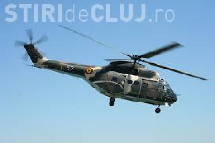 Un elicopter de la Câmpia Turzii s-a PRĂBUȘIT și opt MILITARI au MURIT - UPDATE VIDEO