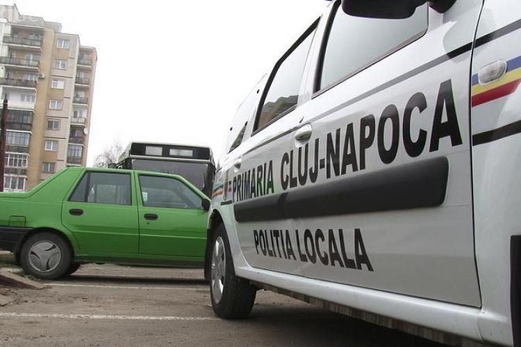 Poliția locală face raliu prin centrul Cluj: N-ar strica un test psihologic înainte de angajare