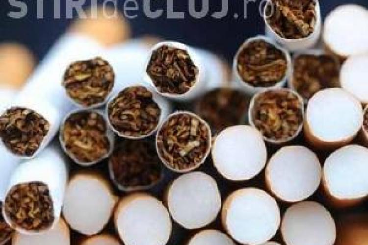 Contrabandă cu țigări la Cluj. Un bărbat a fost prins în tren cu 44 de cartușe de țigări din Ucraina