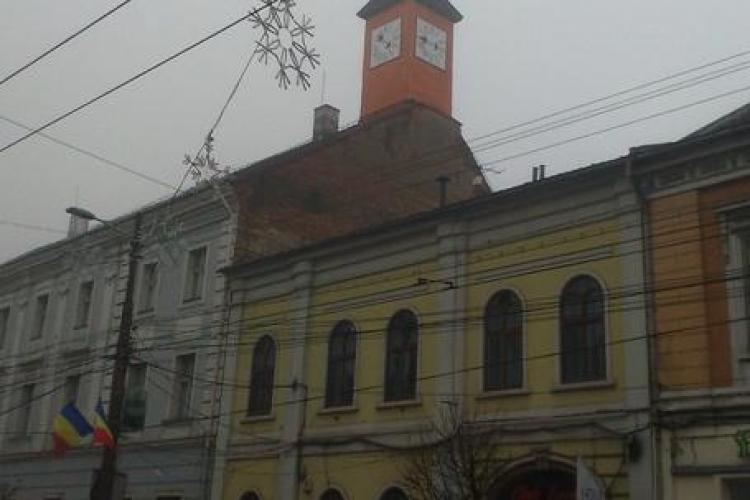 Ceasul din turnul Muzeului Etnografic a fost repus în funcțiune după 75 de ani de pauză - FOTO