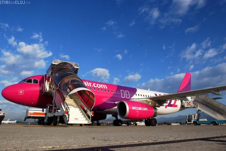 Wizz Air anunță o VESTE BUNĂ pentru clujeni și Aeroportul Internaţional Cluj