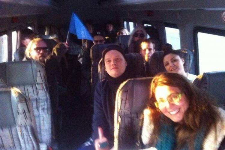 REVELION 2015 Trupa The Asteroids Galaxy Tour este în drum spre Cluj. Vezi ce alte concerte vor avea loc în Piața Unirii FOTO