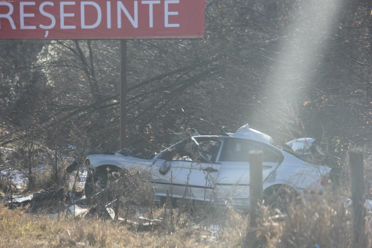 Un fotbalist de la U Cluj a murit după ce a intrat cu BMW -ul sub un TIR pe Dealul Feleacului - FOTO
