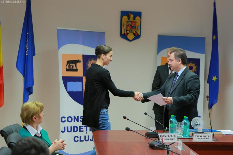 Cei mai buni sportivi din Cluj au fost premiați de Consiliul Județean Cluj
