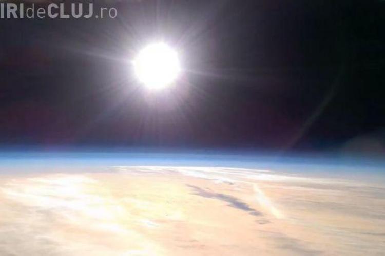 Primele imagini din stratosferă înregistrate cu telefonul mobil. Vezi cum arată VIDEO