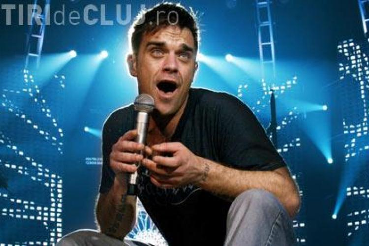 Concert Robbie Williams la București. Pe site -ul oficial nu apare