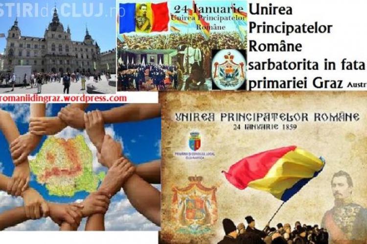 Românii din Graz -Austria sărbătoresc Unirea Principatelor Române