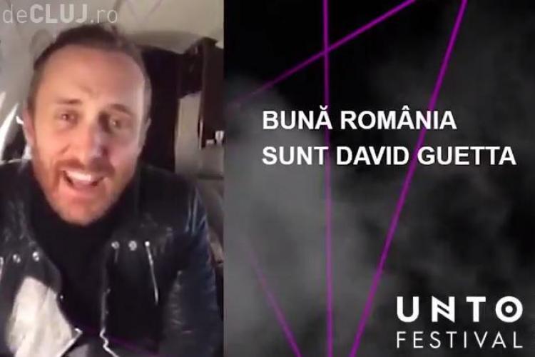 David Guetta și Avicii la UNTOLD FESTIVAL Cluj! Guetta transmite un mesaj fanilor - VIDEO
