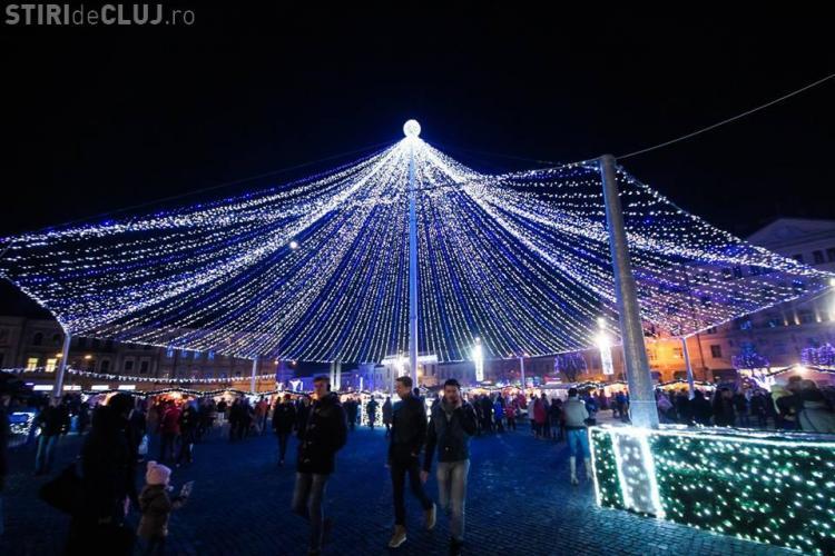Târgul de Crăciun 2014 Cluj: Concerte de colinde în Piața Unirii