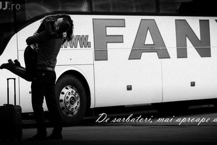 Compania de transport Fany vă urează sărbători FANYtastice! (P)