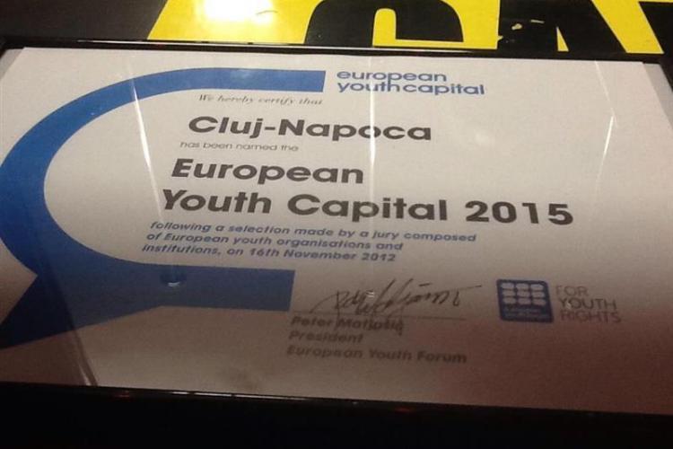 Proiectul Cluj - Capitala Europeană a Tineretului primește 4 milioane de lei pentru proiecte de mediu