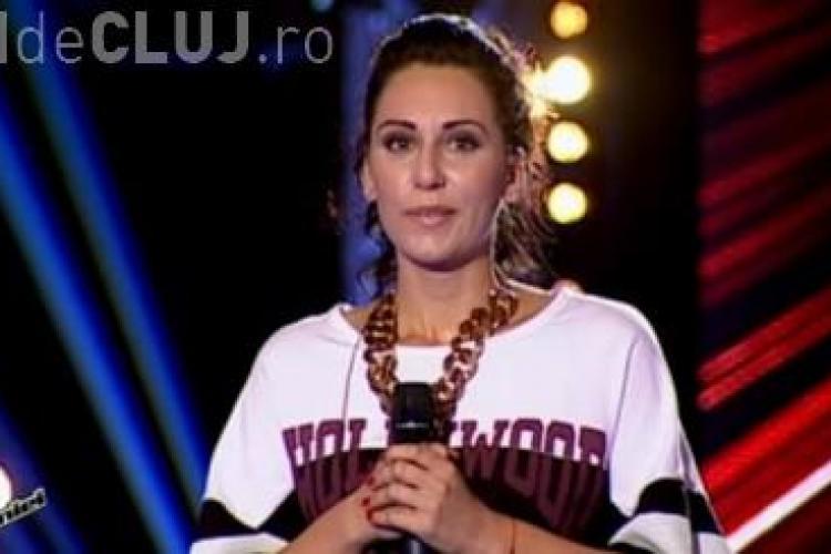 Clujeanca Anda Dimitriu a iesit pe DOI la VOCEA ROMANIEI 2014