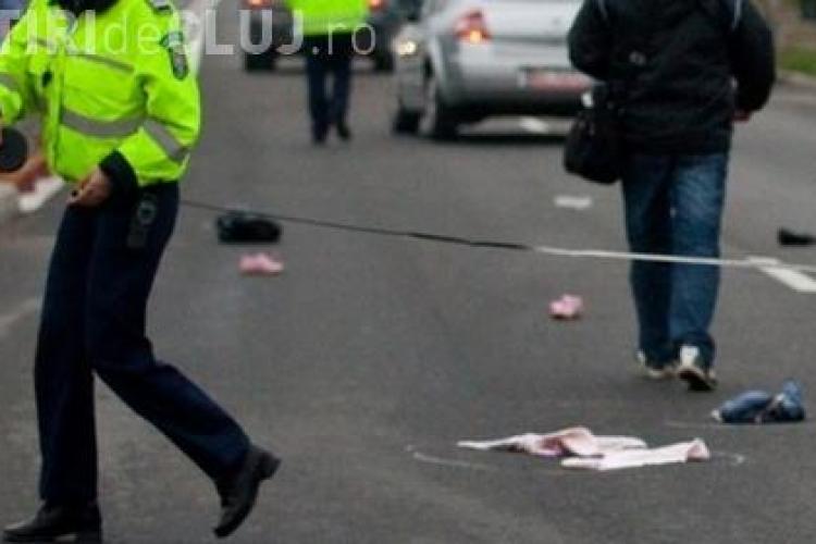 Accident grav în Piața Abator