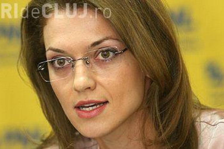 Alina Gorghiu este noul preşedinte al PNL în locul lui Klaus Iohannis