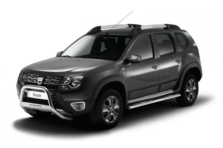 Dacia a realizat un Duster pe ȘENILE. Vezi cum arată  FOTO