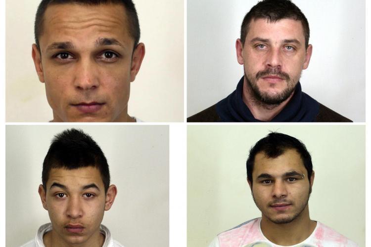 Patru deținuți au evadat de la arestul IPJ Cluj. Poliția a pornit pe urmele lor UPDATE FOTO