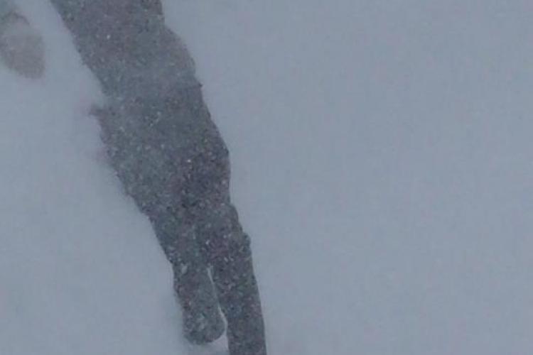 Zăpadă de doi METRI la Cluj! Să vină armata să ne deszăpezească - VIDEO