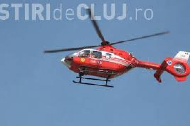 Elicopter SMURD prăbușit într-un lac din Constanța
