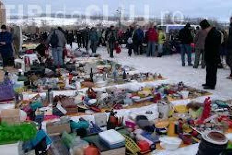 Cluj - Piața de vechituri OSER va fi modernizată în 2015. NU se vor mai vinde lucruri pe jos