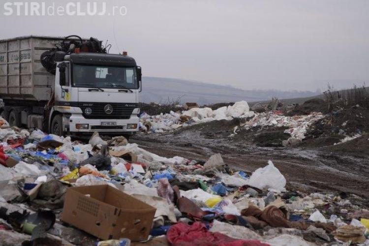 Amenzi de până la 135.000 de euro pe zi pentru că la Cluj nu se rezolvă problema gunoiului menajer