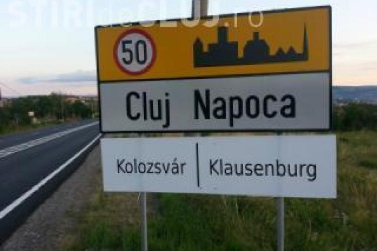 Petiție pentru placutele trilingve la Cluj. Peste 1.000 de oameni au semnat