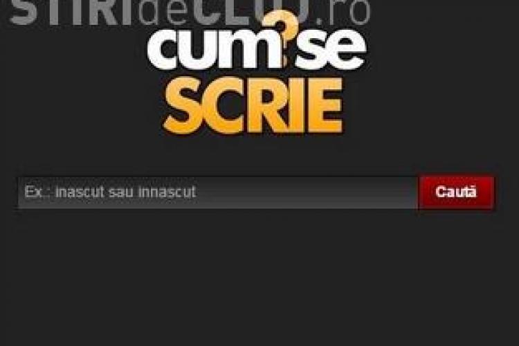 Aplicația care îți arată cum să scrii corect în limba română