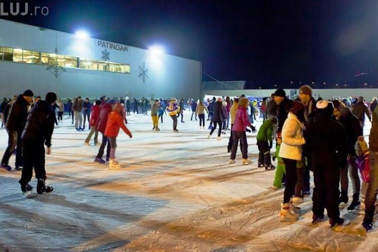 Nu știi ce să faci cu copilul în vacanță? Mergeți la patinoar! Patinoarul Fiesta  e deschis și pe perioada vacanței. Vezi programul