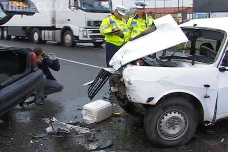 Accident mortal la Căpușu Mare. Un polițist de frontieră băut la volan a intrat într-o Dacie