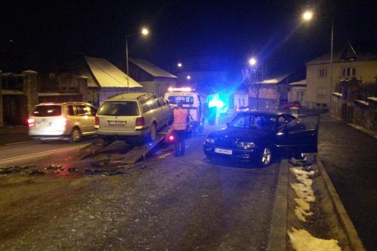 Accident pe Calea Turzii! A intrat pe contrasens și a ieșit prăpăd - FOTO și VIDEO