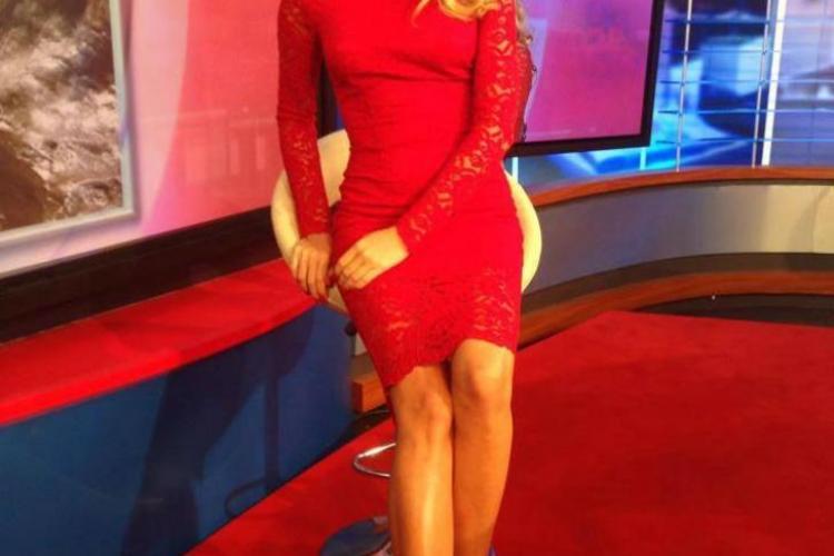 O frumoasă prezentatoare tv s-a căsătorit în secret