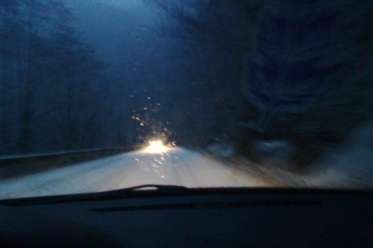 A NINS la Cluj și e dezastru pe drumurile din județ - FOTO