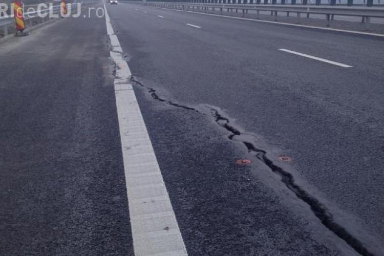 S-a rupt ultima autostradă inaugurată în România