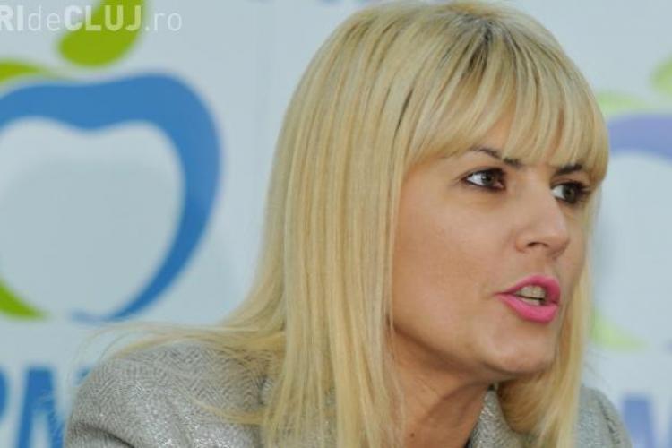 Elena Udrea a făcut denunț la DNA împotriva şefului SRI