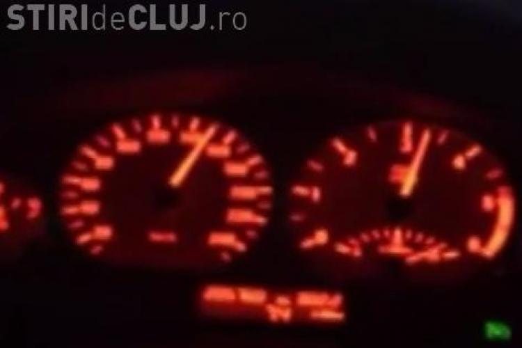 Schumacher de Gherla! S-a urcat în BMW și a condus cu 200 km/ora pe drumul Cluj - Gherla VIDEO