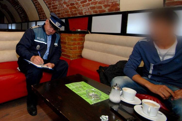 Razie în baruri la Cluj. Polițiștii i-au căutat pe elevii care chiulesc