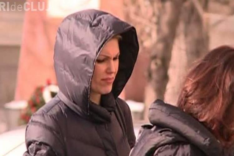 Clujeanca Cristina Rus, implicată într-un accident rutier - VIDEO