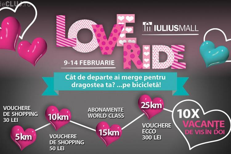 Iulius Mall Cluj te premiază cu zece weekend-uri romantice de Valentine`s Day. Vezi cum poți câștiga (P)