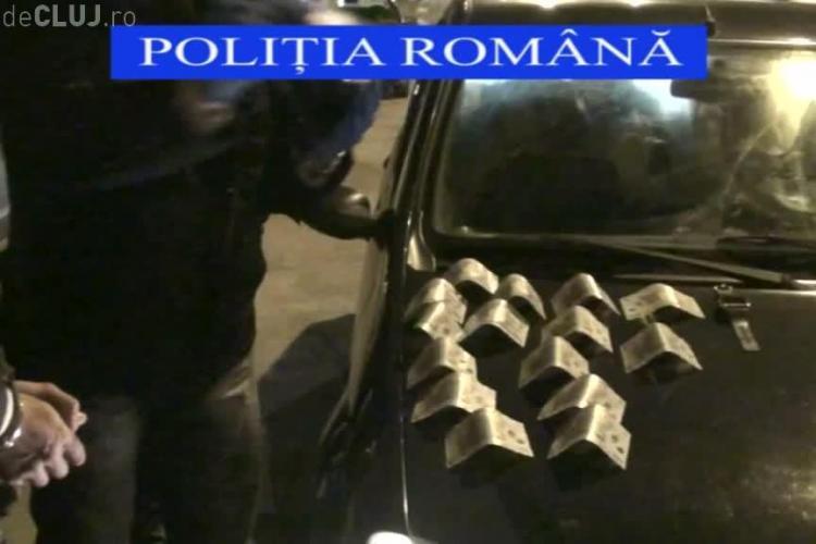 Descindere la Cluj! Polițiștii au destructurat un grup de hoți specializați în furturi de locuințe VIDEO