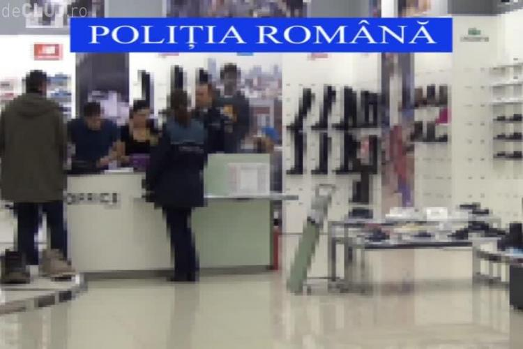 Razie la Iulius Mall Cluj. Mai multe magazine au primit amenzi de zeci de mii de lei VIDEO
