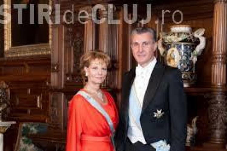 Principesa Moştenitoare Margareta şi Principele Radu al României - Cetăţeni de Onoare ai judeţului Cluj