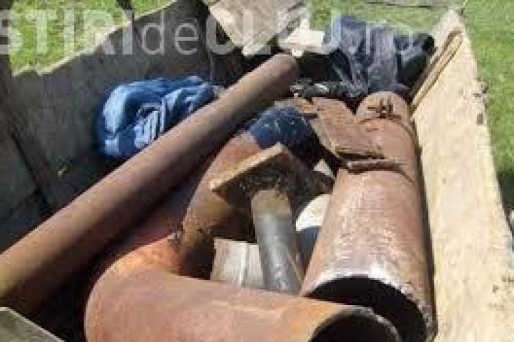 Tineri prinși la furat de fier vechi la Cluj