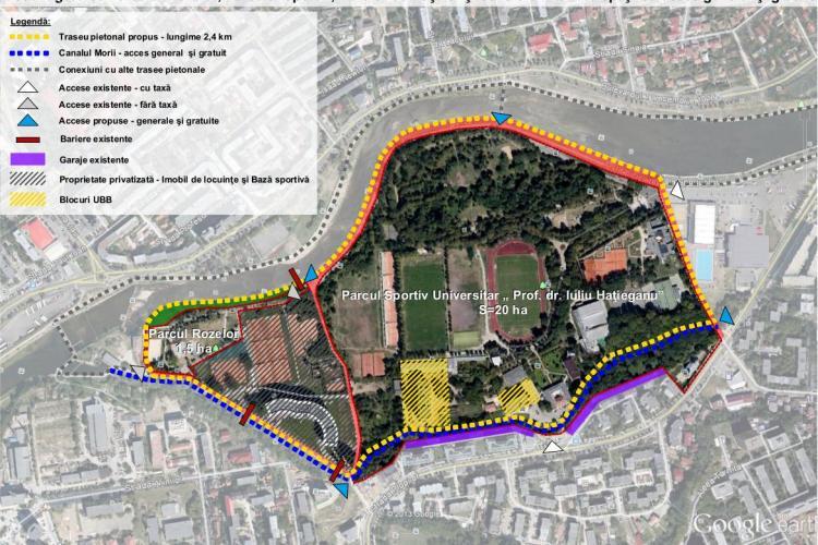Ecologiștii solicită desființarea porții metalice de pe Canalul Morii, de la blocul milionarilor