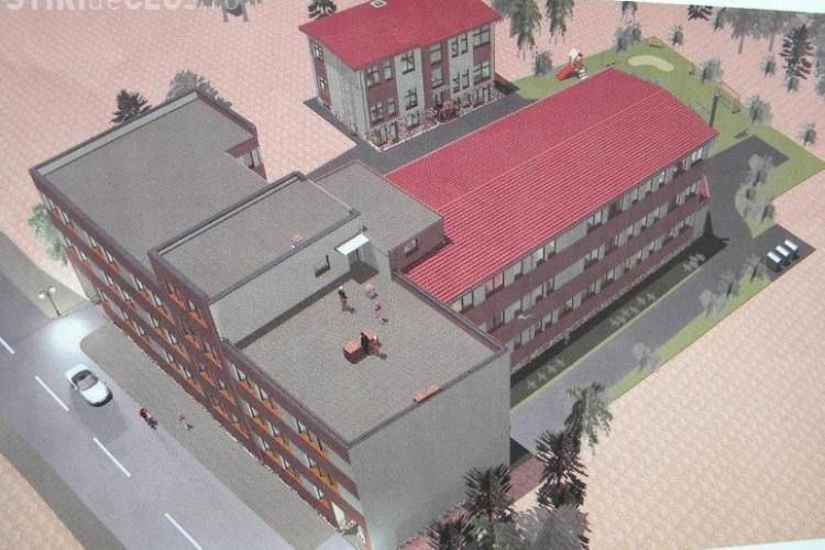 A fost finalizat blocul de locuințe sociale de lângă Gara Cluj. Sunt apartamente cu 70 de mp