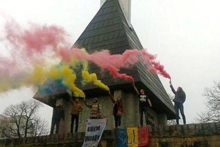 Clujenii au sărbătorit Mica Unire într-un mod special -  FOTO