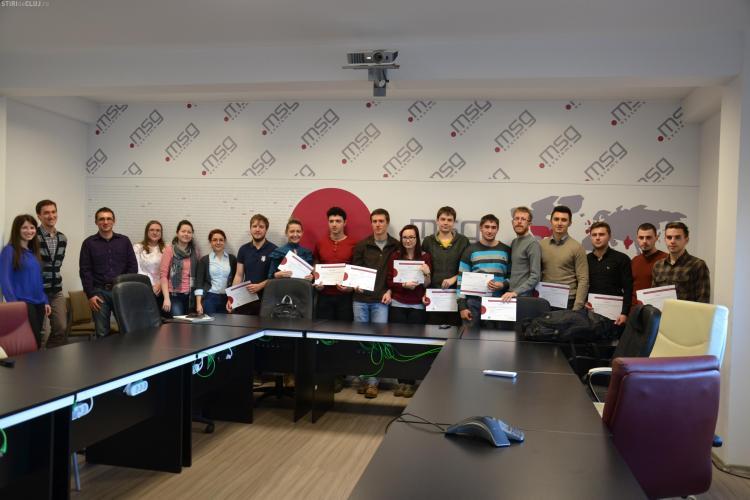 Cursuri SAP pentru studenții informaticieni din Cluj la msg systems România(P)
