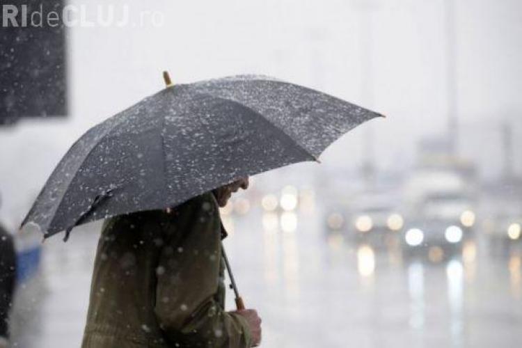 Revin ploile și ninsorile! VEZI prognoza meteo pentru următoarele DOUĂ SĂPTĂMÂNI